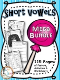 Short Vowel Mega Bundle - Phonics Activities - 115 Pages!