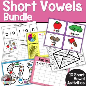 Short Vowel Bundle- Ten Different Activities