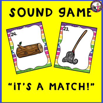 Short Vowel Memory Game-vowels a and o