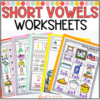 Short Vowel Middle Sounds Worksheets