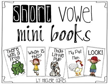 Short Vowel Mini Books