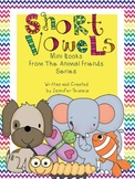 Short Vowel Books {Print and Cut}