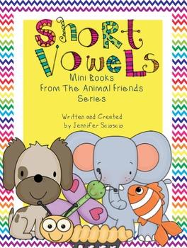 Short Vowel Books {Print and Cut}