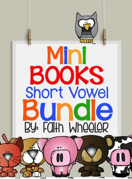 Short Vowel Mini Books Bundle