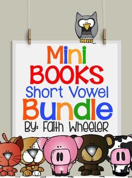 Short Vowel Mini Books Bundle