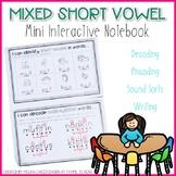 Short Vowel Mini Interactive Notebook