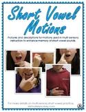 Short Vowel Motions - Descriptions and Poster