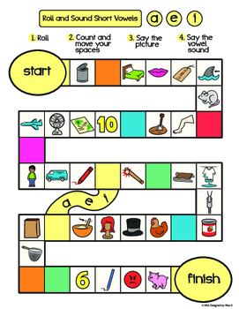 Short Vowel Multi-Game Practice Pack
