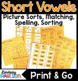 Short Vowels CVC No Prep