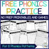 Free Phonics Worksheets Printables and Google Classroom