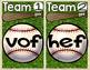 Short Vowel Nonsense Word Baseball