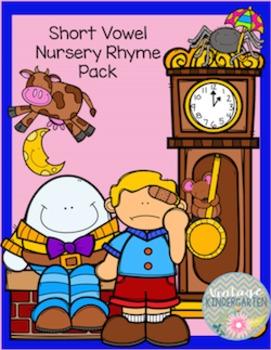 Short Vowel Nursery Rhyme Bundle