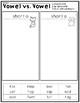 Short Vowel O CVC Activities