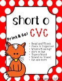 Short Vowel O CVC Activities