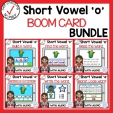 Digital Short Vowel O CVC Boom Cards Bundle