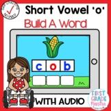 Digital Short Vowel O CVC Build A Word Boom Cards℠