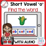 Digital Short Vowel O CVC Find the Word Boom Cards℠