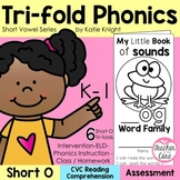 Short Vowel O Phonics Tri-Folds