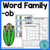 OB Word Family Word Work