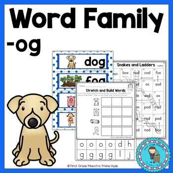 OG Word Family Word Work