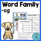 OG Word Family Word Work