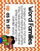 Short Vowel O Word Work {-op Word Family}