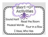 """Short Vowel """"O"""" Activities"""
