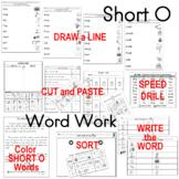 Short Vowel Oo Work Packet for K - 1