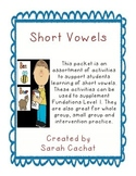 Short Vowel Decoding and Practice Pack
