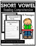 Short Vowel Passages. Comprehension Questions. CVC words. I Can Read.