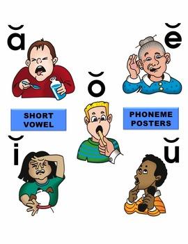 Short Vowel Phoneme Posters