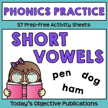 Short Vowel Phonics Activities
