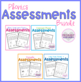 Phonics Assessments BUNDLE Short Vowels, Blends, Digraphs,