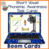 Short Vowel Phonemic Awareness Boom Learning Cards