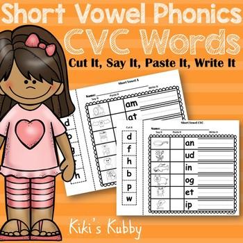 Short Vowel Phonics: CVC Words