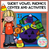 Short Vowel Phonics Center and Activities...aeiou!