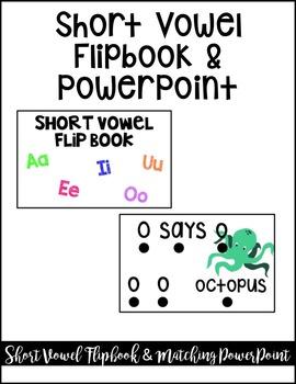 Short Vowel Phonics Flipbook