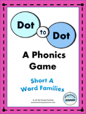 Short Vowel Phonics Game:  Short A Word Families