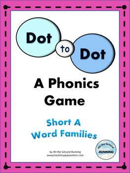 Short Vowel Phonics Game:  Short A Word Families