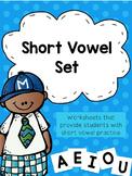 Short Vowel Phonics Pages