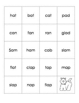 Short Vowel Phonics Partner Game