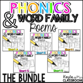 Short Vowel Phonics Poems **THE BUNDLE**