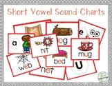 Short Vowel Phonics Posters Anchor Charts + Student Desk Helper Charts