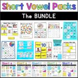 CVC Words Short Vowel Phonics: The Bundle