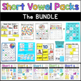 CVC Words Short Vowel Phonics: The Bundle