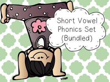 Short Vowel Phonics Set (Bundled)