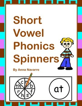 Short Vowel Phonics Spinners