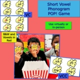 Short Vowel Phonogram POP! Game
