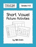 Short Vowel Picture Activities