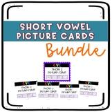 Short Vowel Picture Cards Bundle